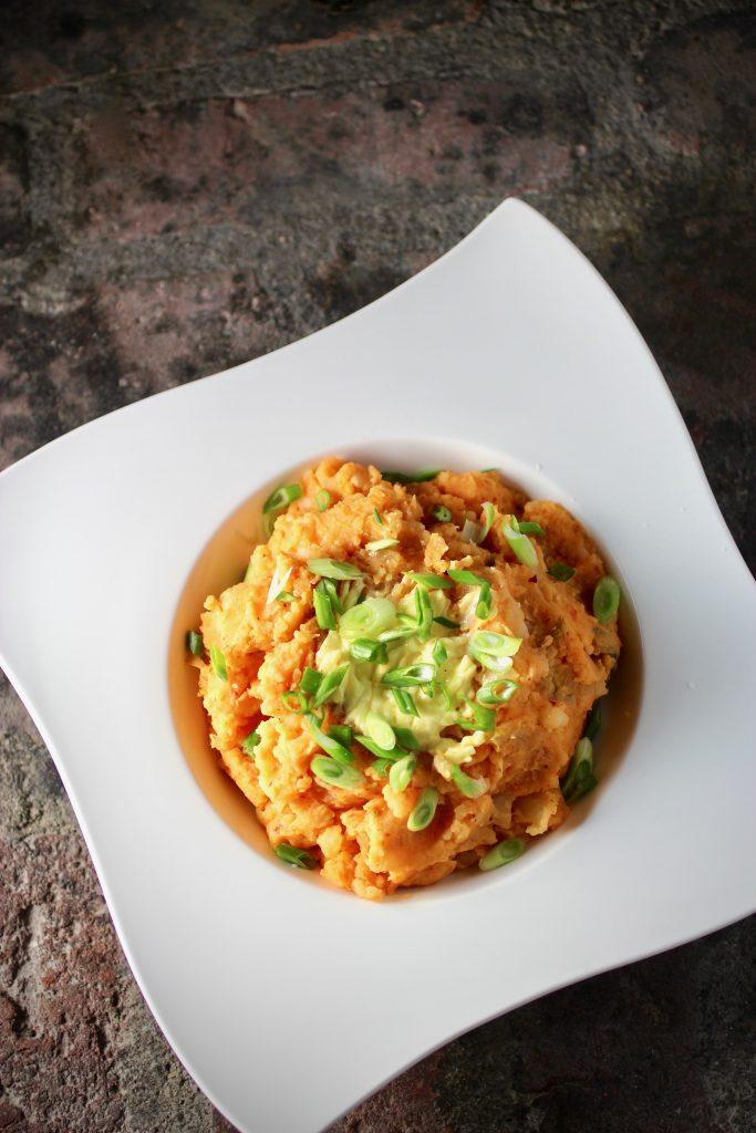Kimchi Colcannon