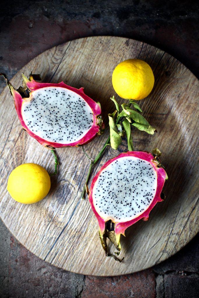 Fluke Crudo, Meyer Lemon Vinaigrette