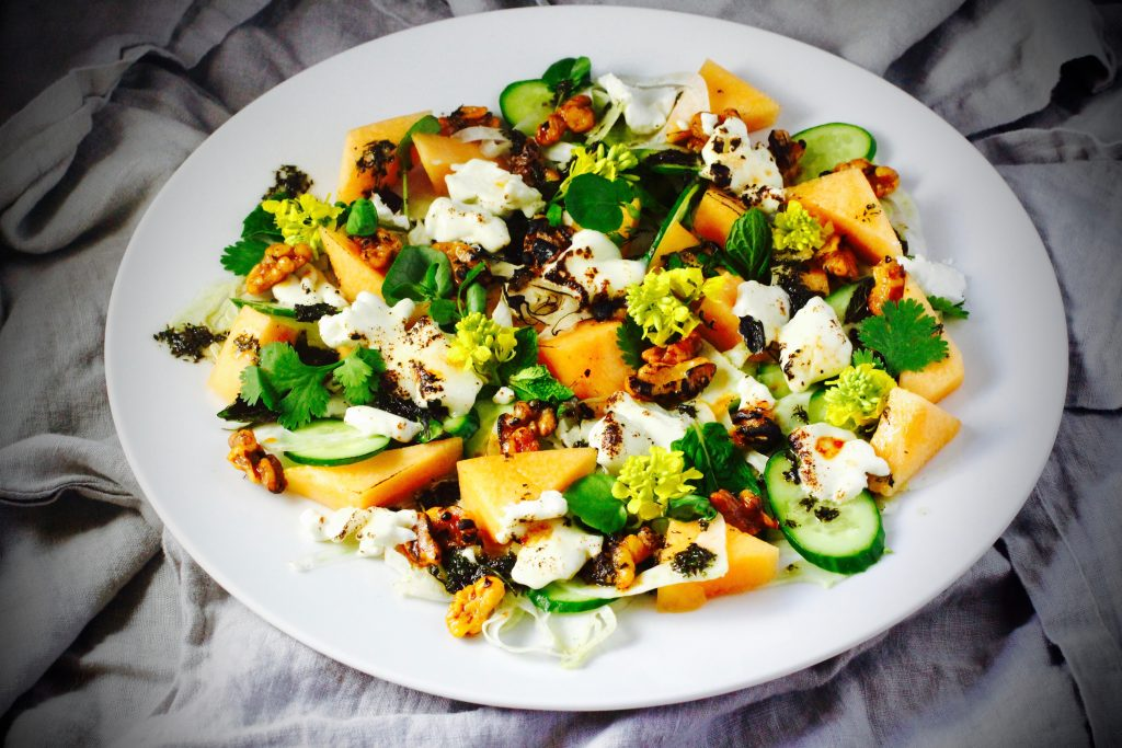 Adopt-A-Goat and Charred Goat Cheese Salad