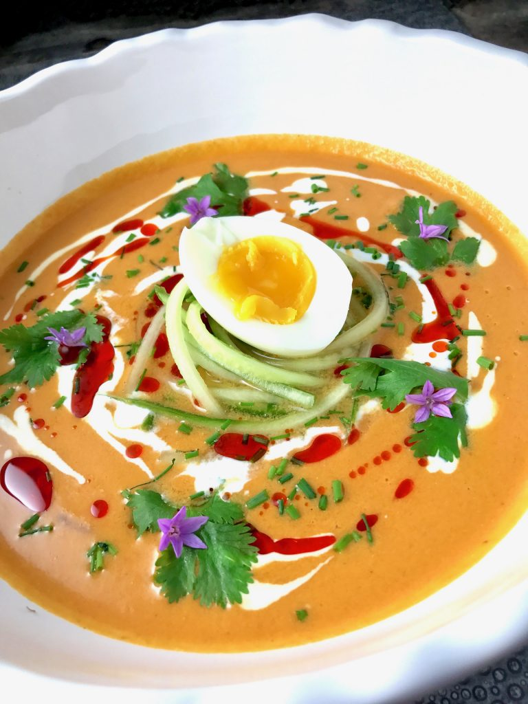 Spanish Chilled Tomato Soup aka Salmorejo