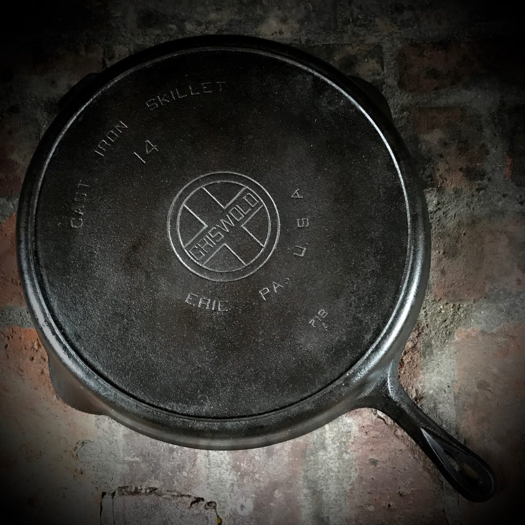 Griswold Cast-Iron Skillet #14