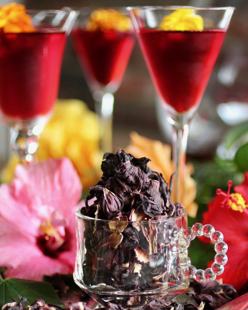 Hibiscus-Rose Infusion aka Agua de Jamaica y Rosas