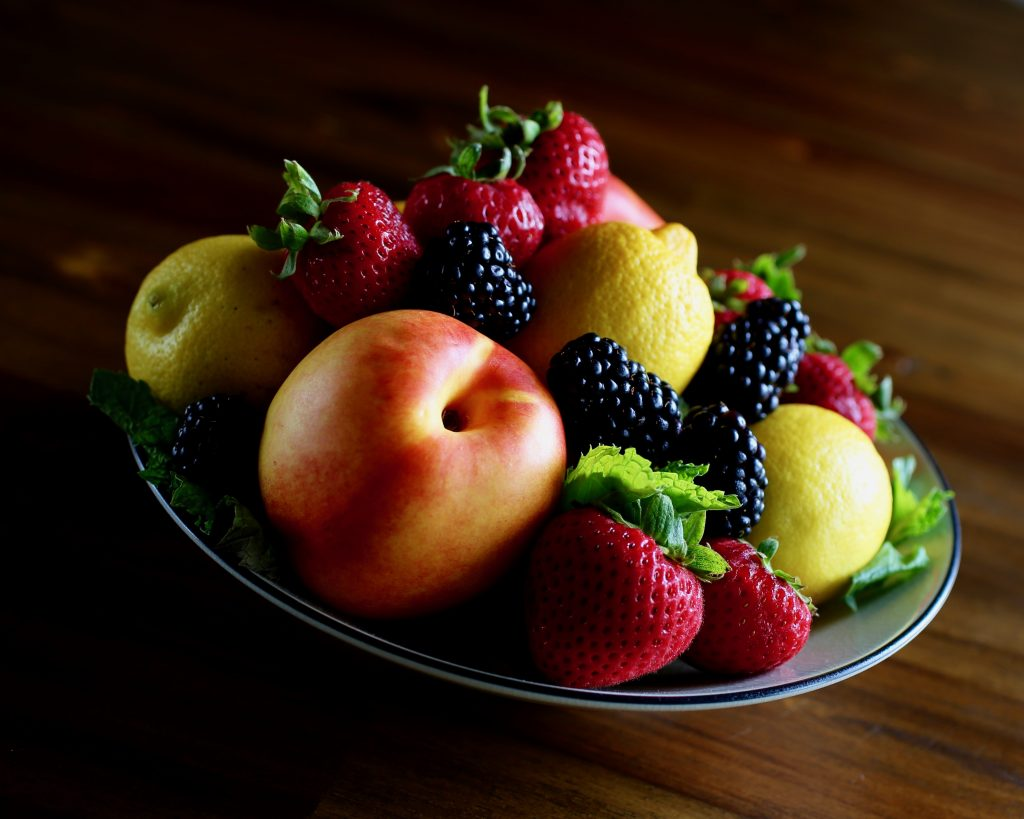 Fresh Fruit Still Life
