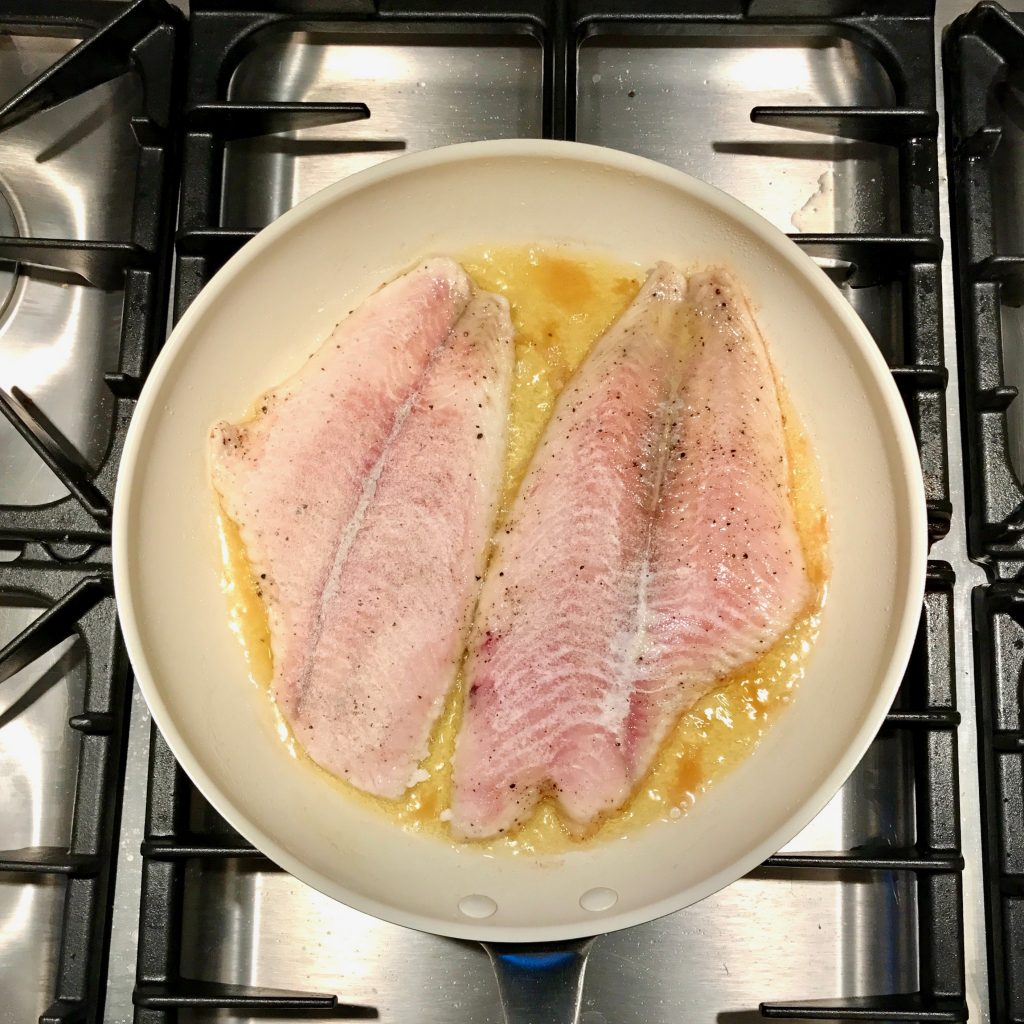 Sole Meunière à la Julia Child