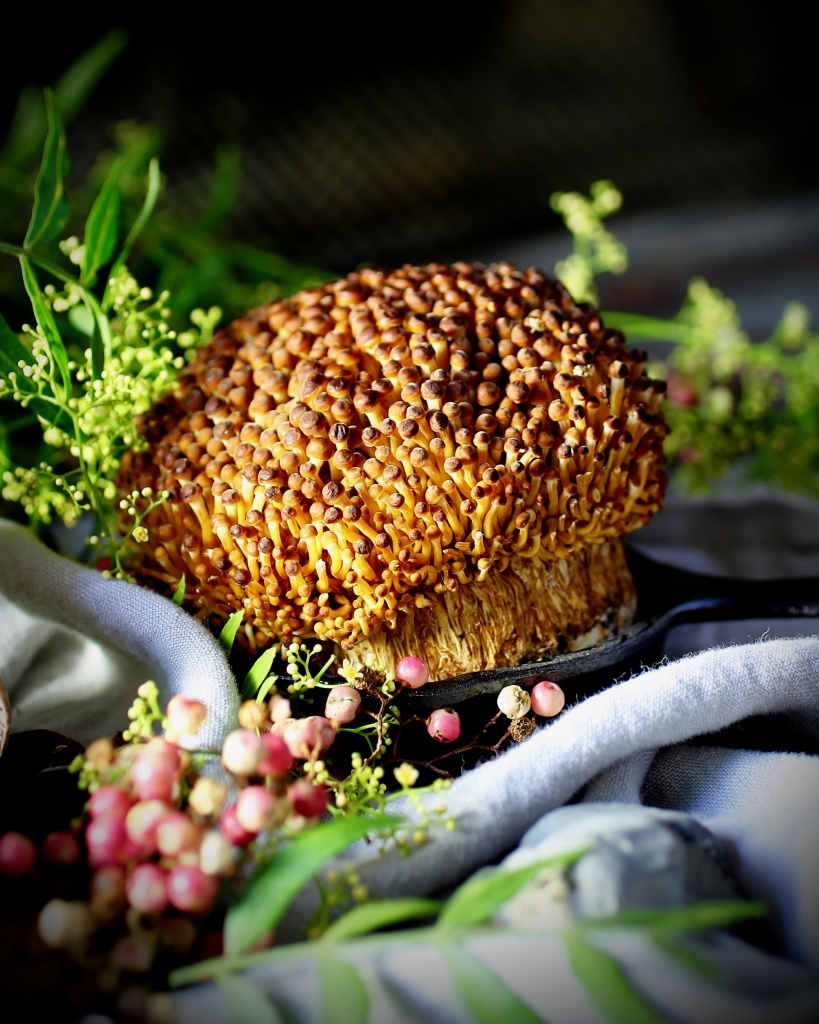 Persimmon Enoki Mushroom