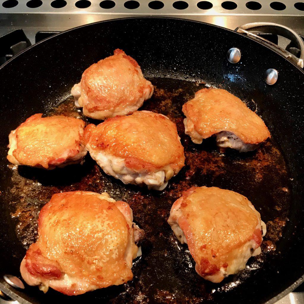 Chicken Fricassée à la Chef Paul Bocuse