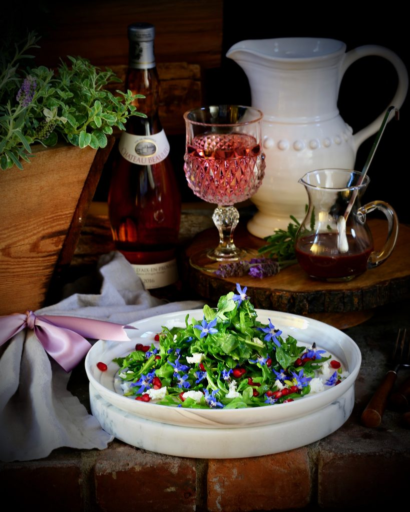 Arugula and Borage Salad