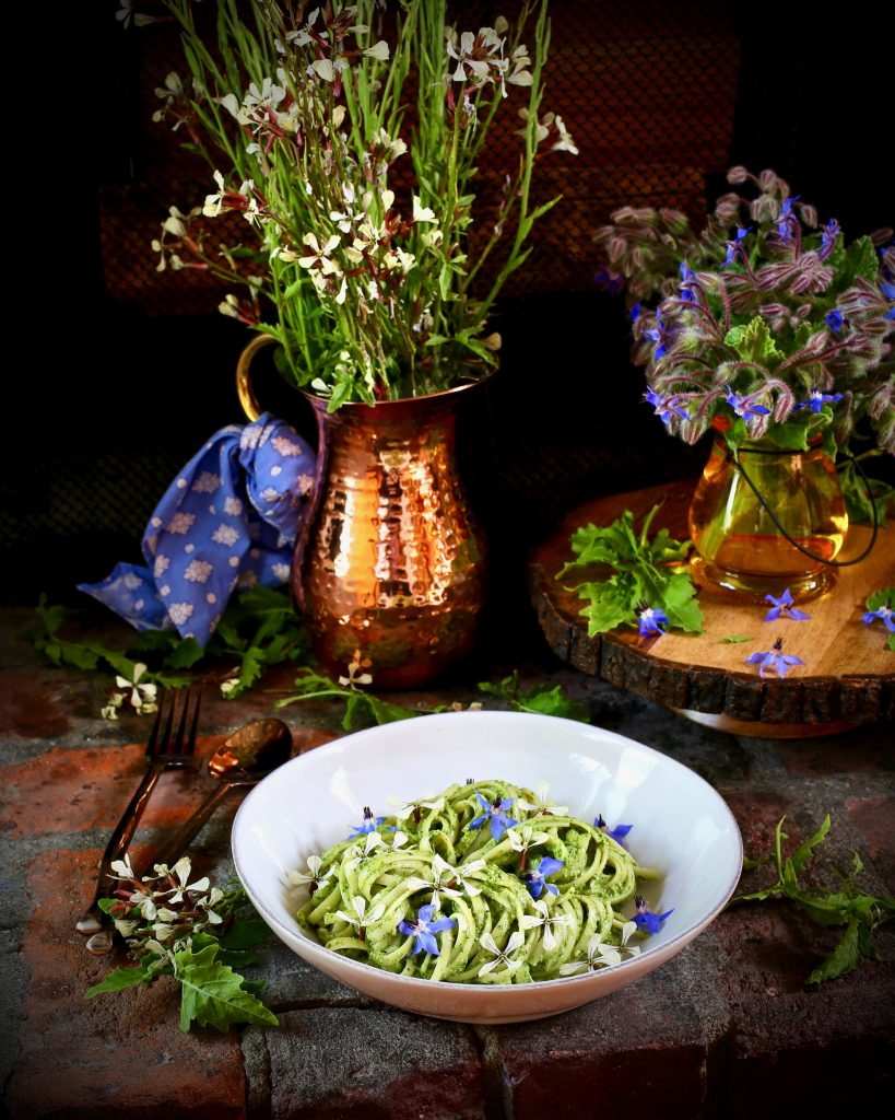 Linguine Arugula Pesto