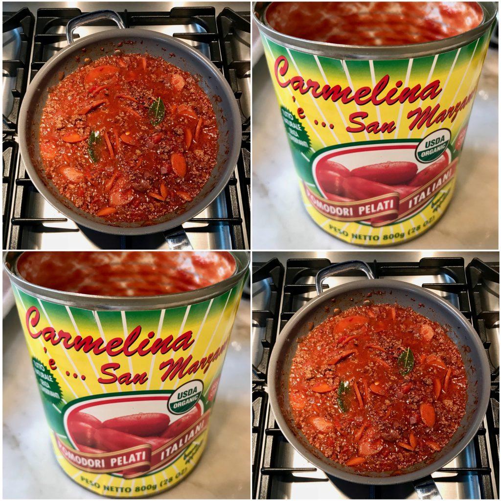 Spaghetti alla Chitarra, Lamb Ragu