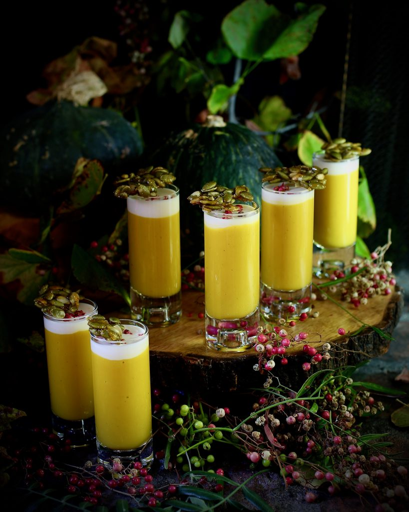 Kabocha Shooters, Candied Pepitas