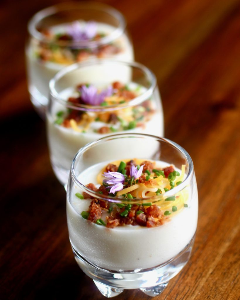 Baked Potato Shooters