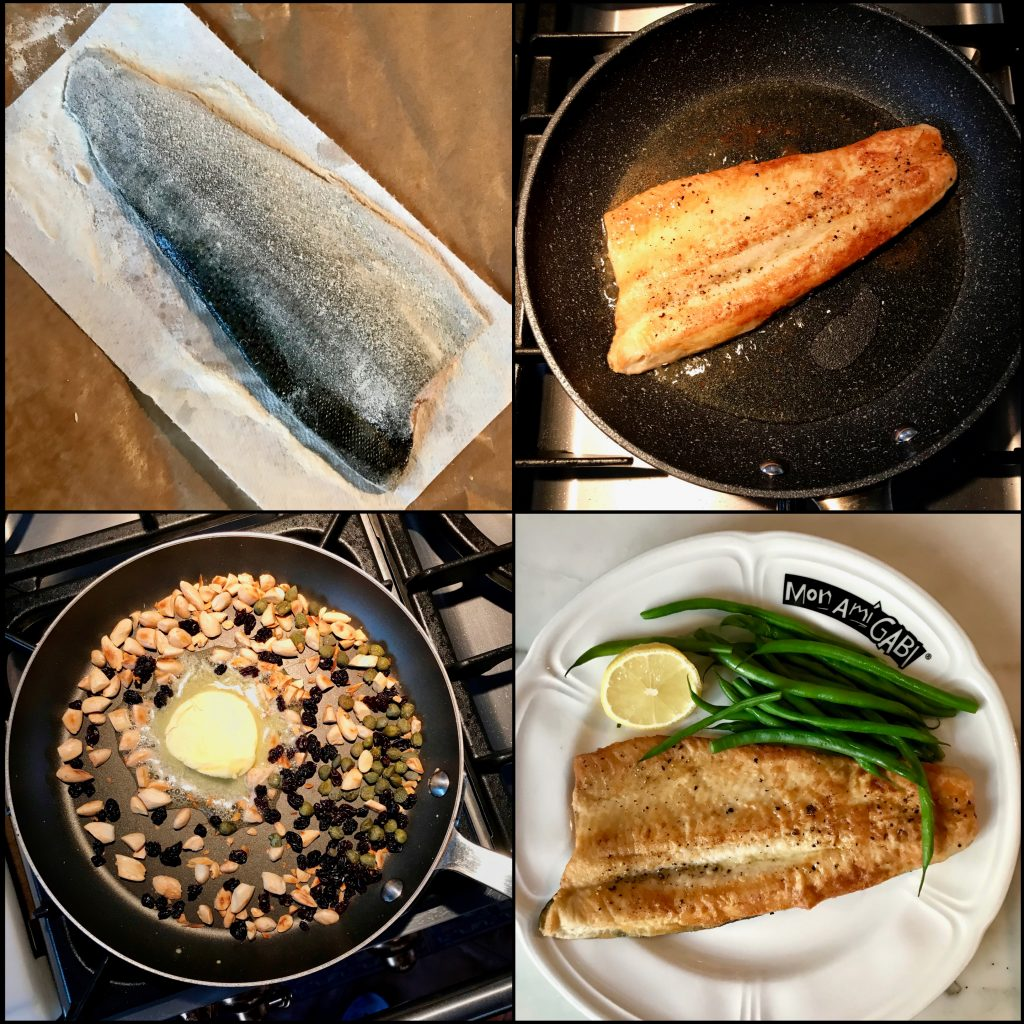 How To Make Trout Amandine