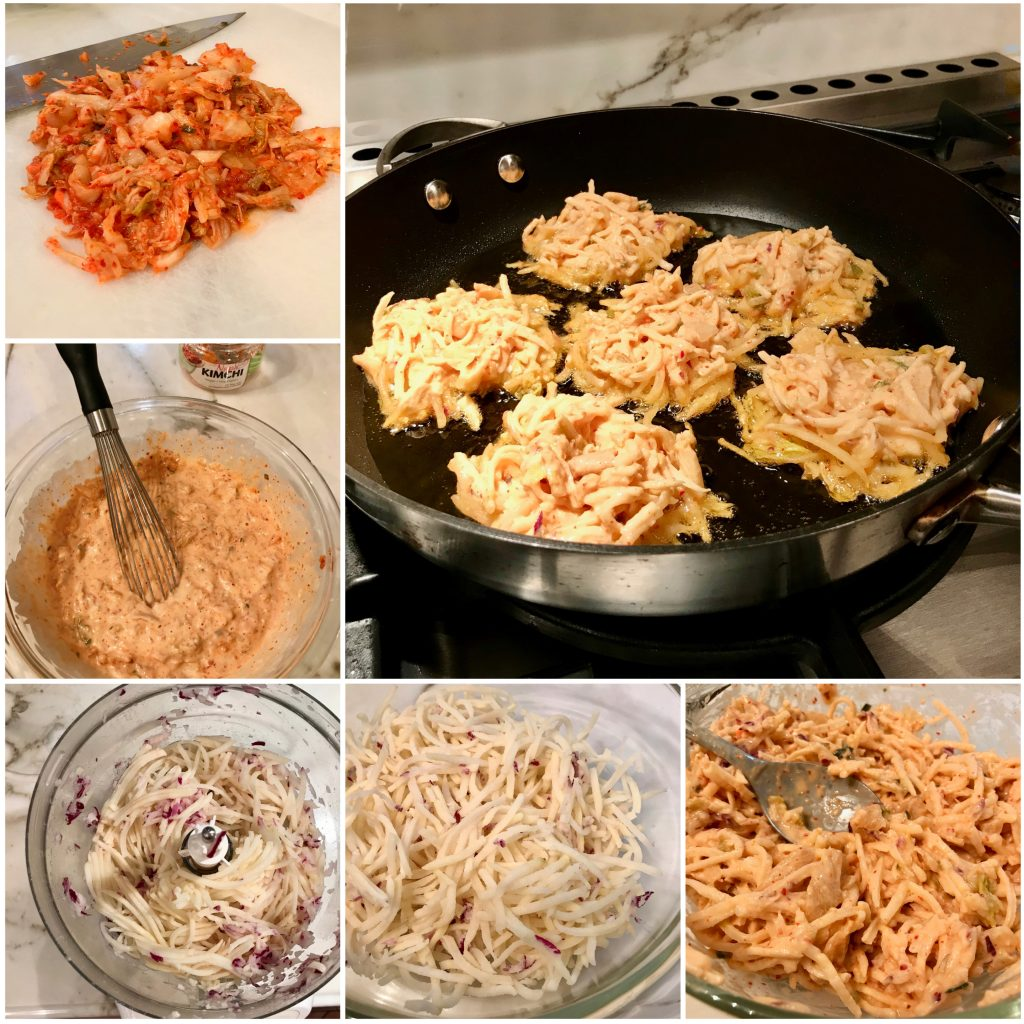 Kimchi Potato Latkes Recipe