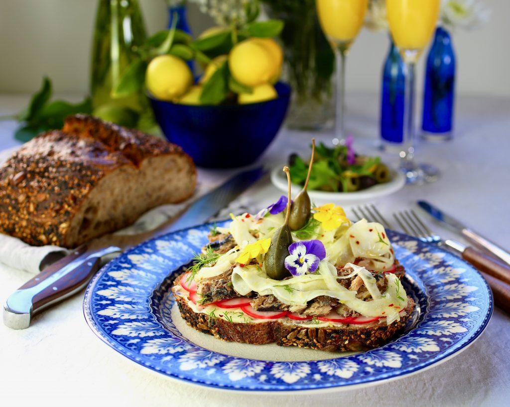 Sardine Smørrebrød