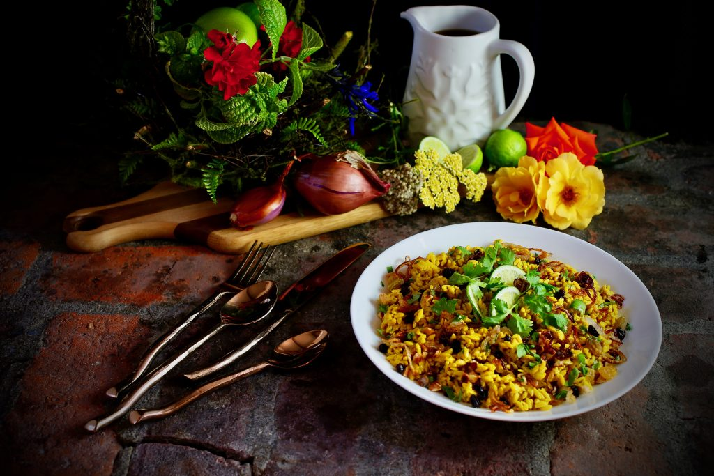 Vegetarian Indian Biryani
