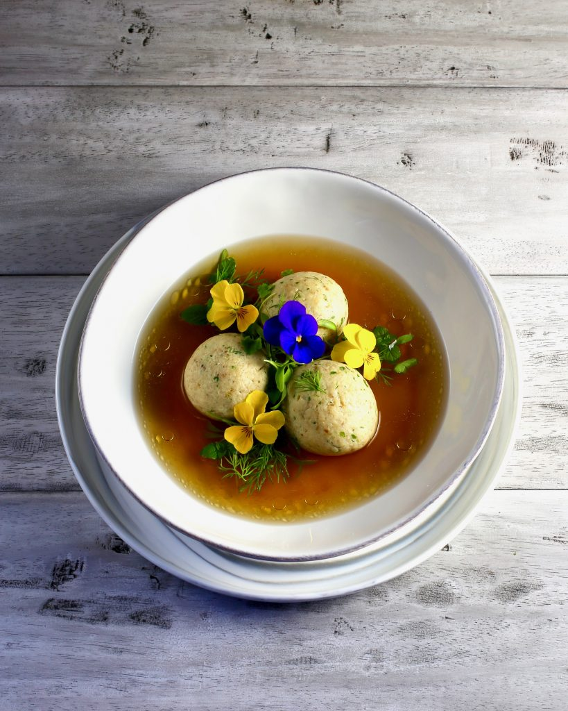 Beautiful Matzoh Ball Soup