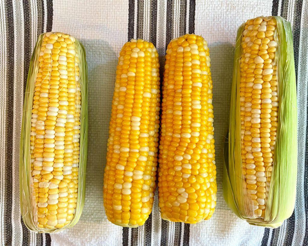 Raw Corn vs. Cooked Corn