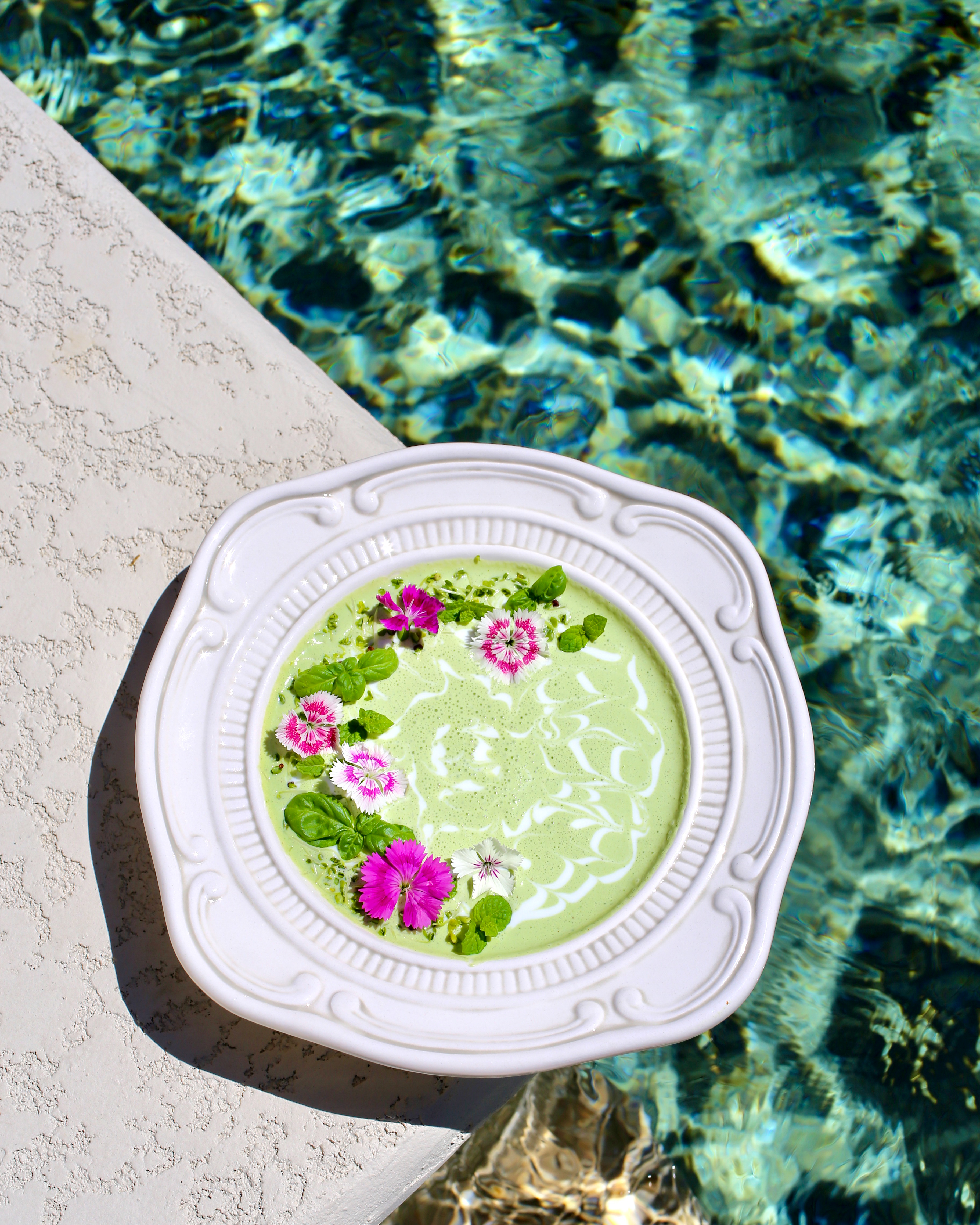 Chilled Cucumber Kefir Soup