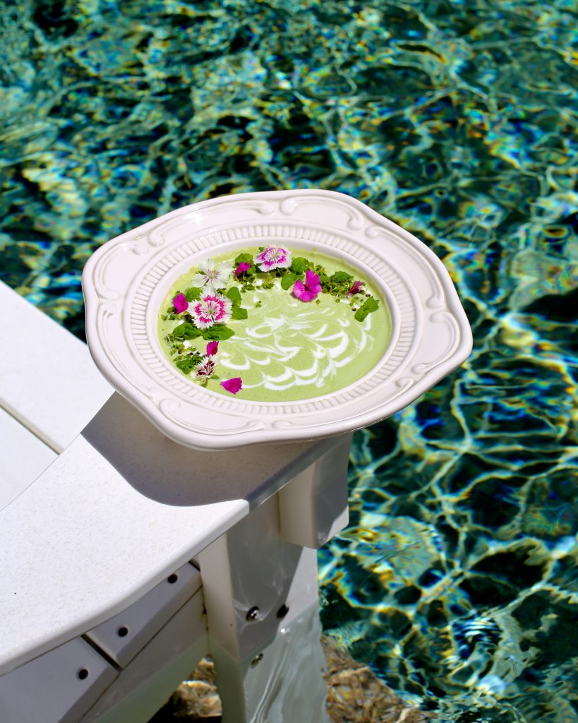 Chilled Cucumber Kefir Soup