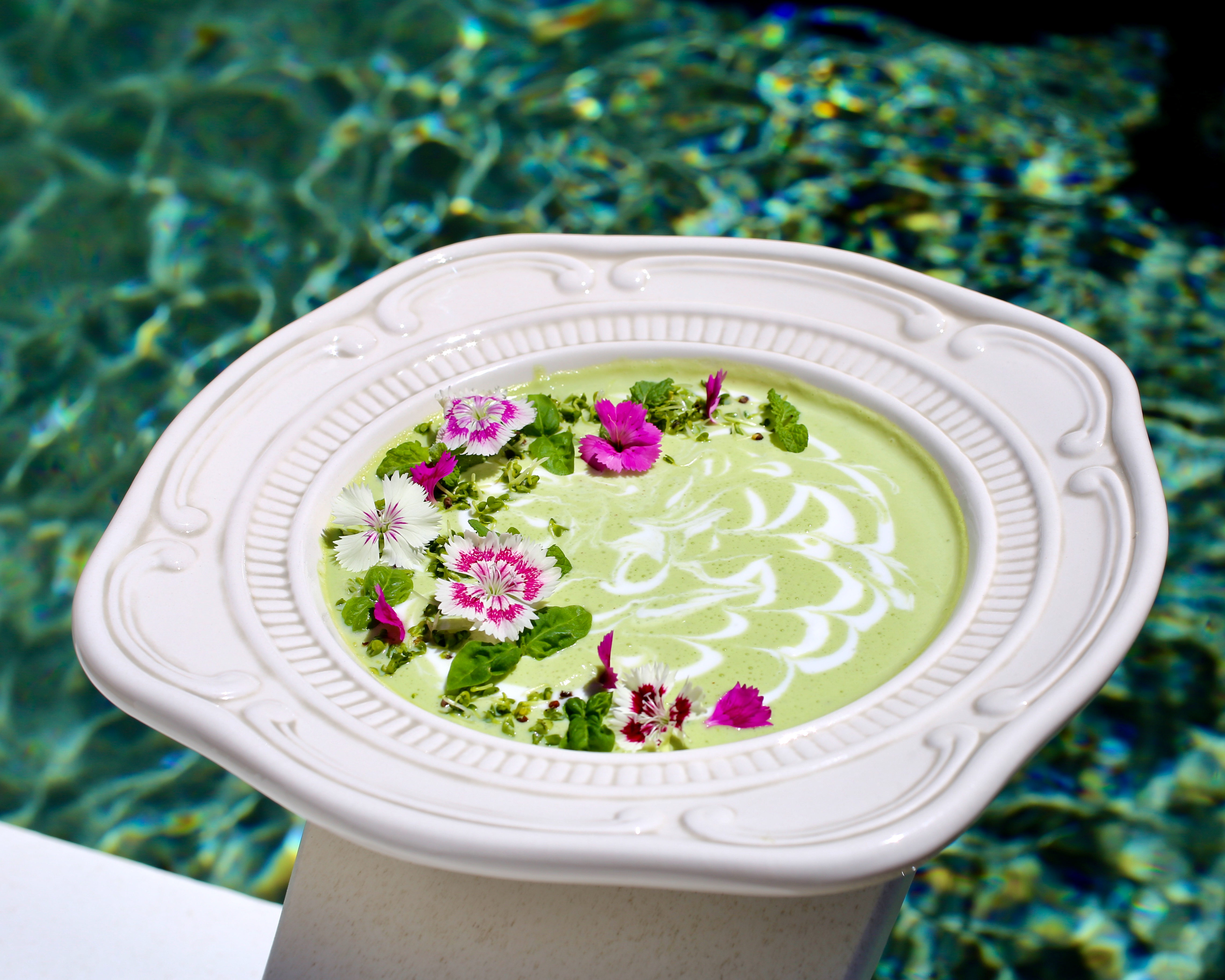 Chilled Kefir Soup