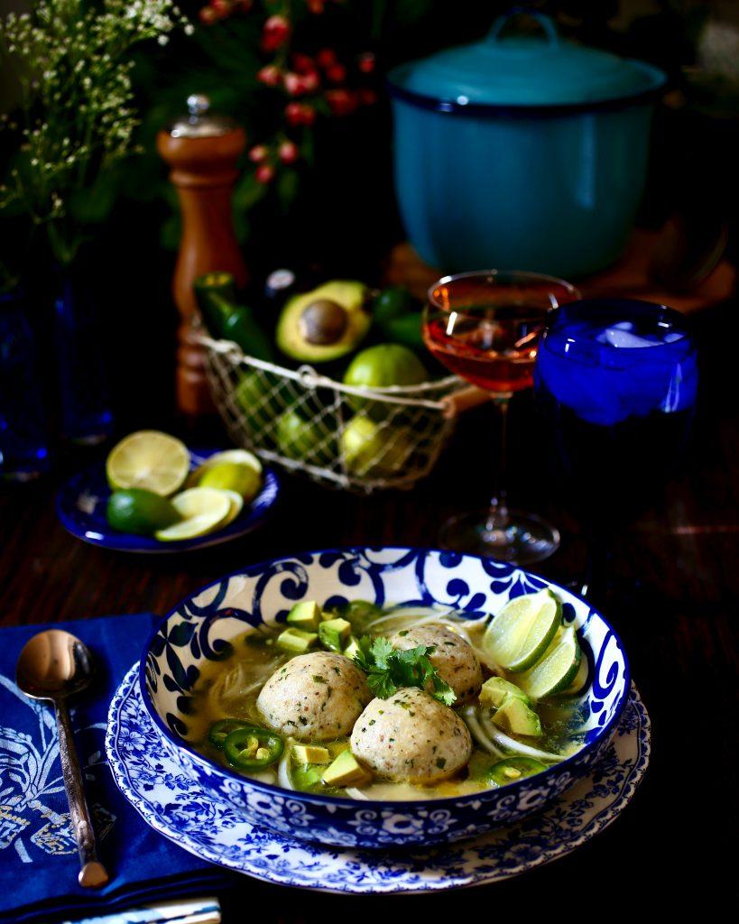 Mexican Matzo Ball Soup
