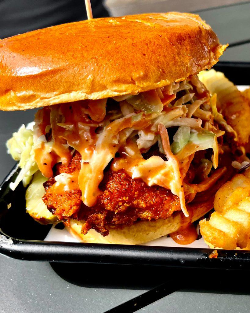 Houston's Hot Chicken Sandwich