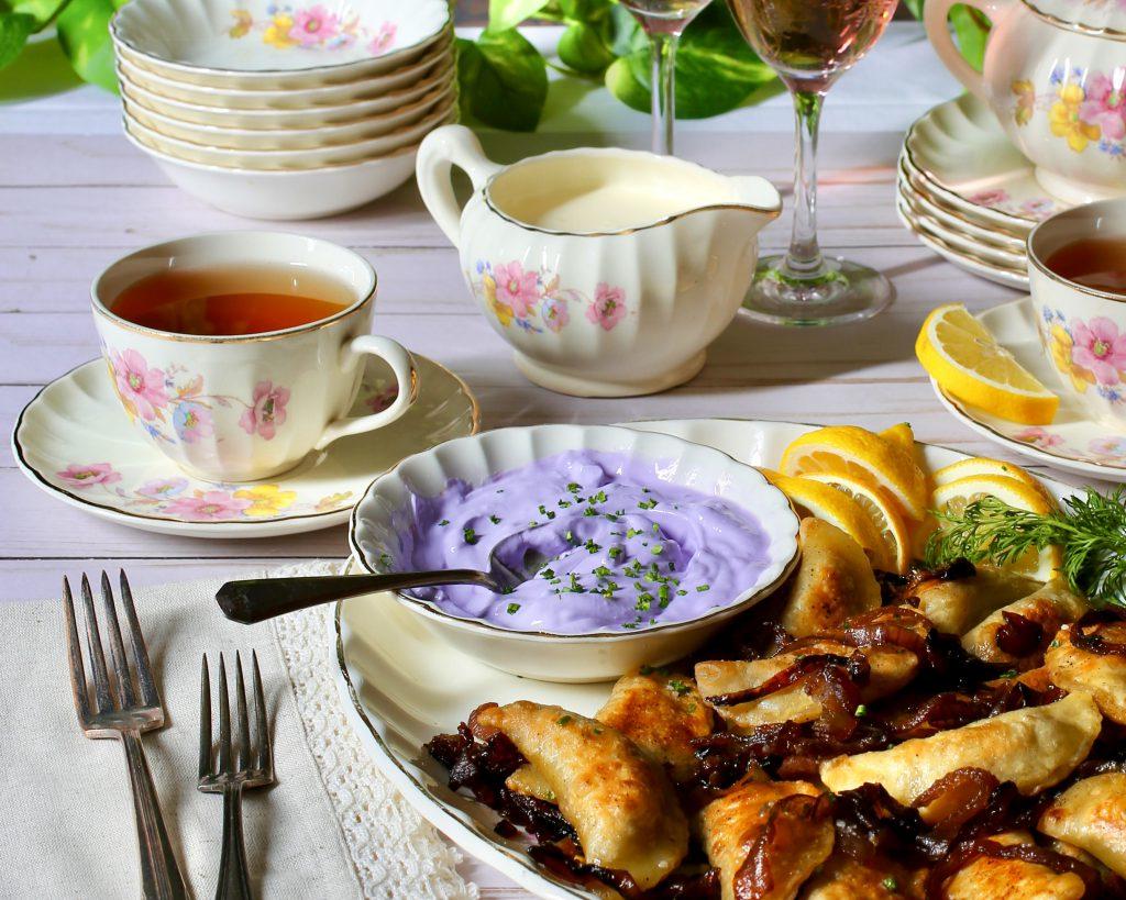 Purple Sour Cream