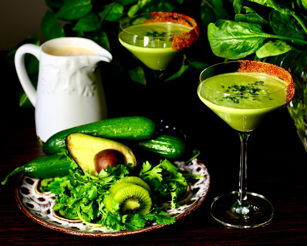 A Sweet, Savory, Spicy Smoothie