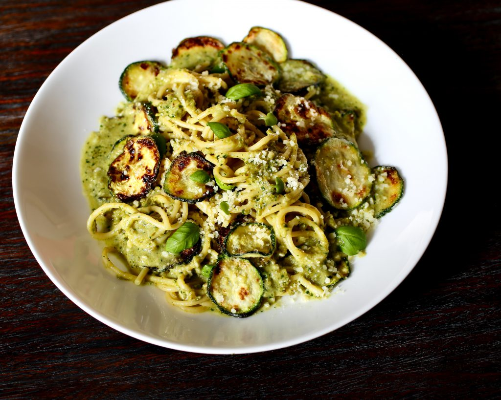 Amalfi-Style Spaghetti with Zucchini