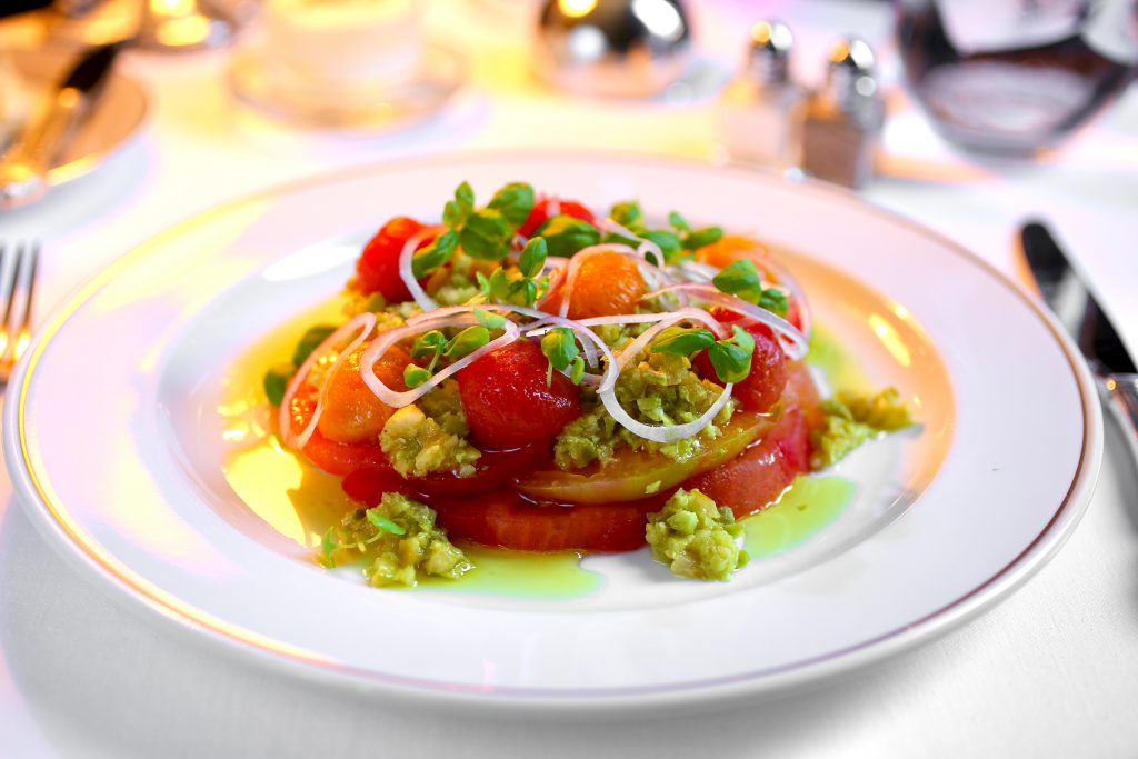 Mayfair Supper Club Tomato Salad