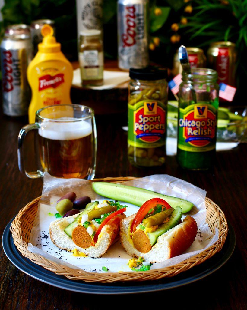 Vegan Chicago-Style Hot Dog