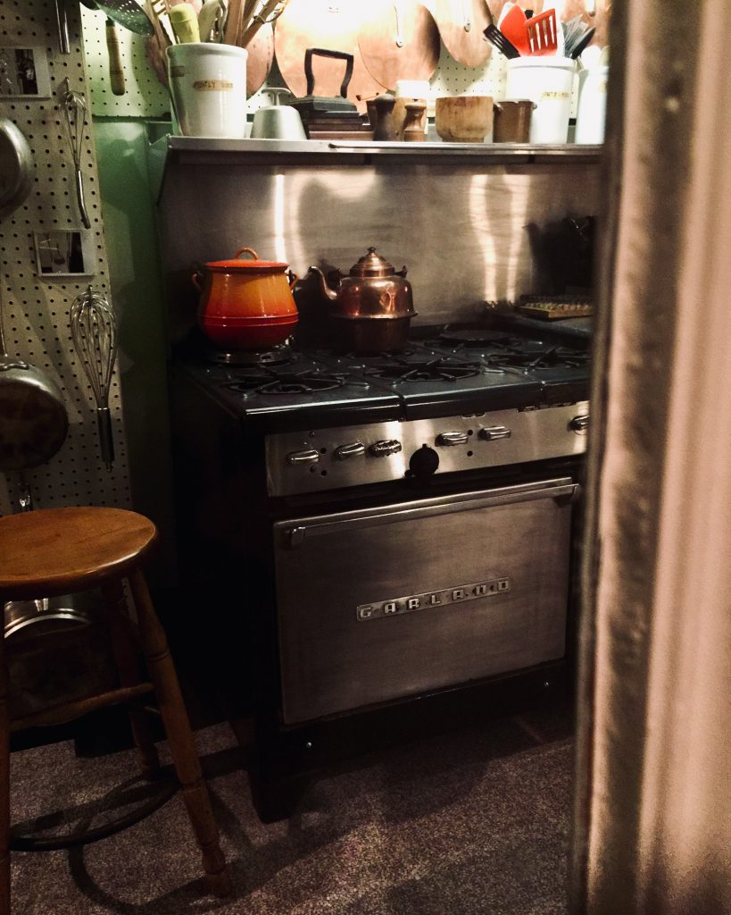 Julia Child's kitchen on display at the Smithsonian